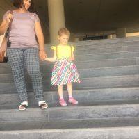 Roxana a revenit in Romania pentru cateva zile