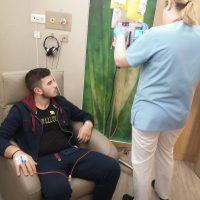 UPDATE 20 Ianuarie 2020 – Andrei a inceput prima cura de chimioterapie