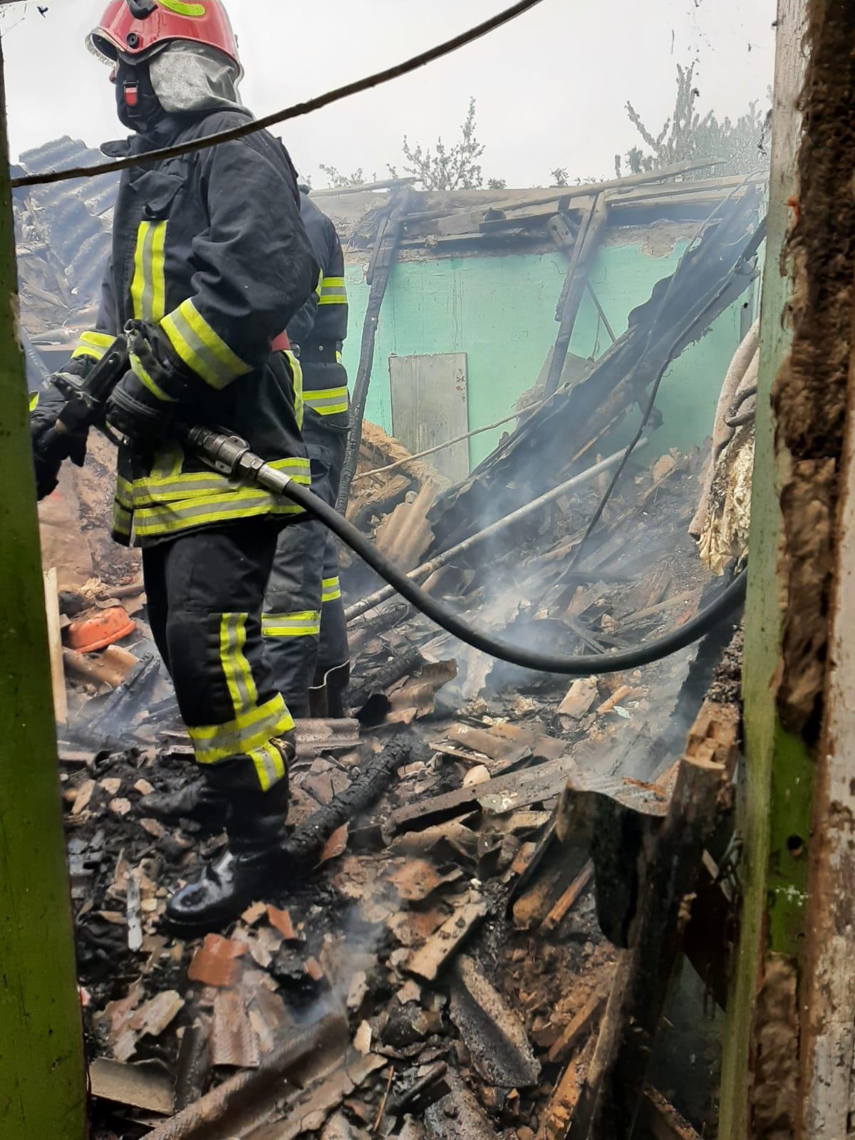 UPDATE 14.05.2021 – Locuința doamnei Godri Georgeta a luat foc!
