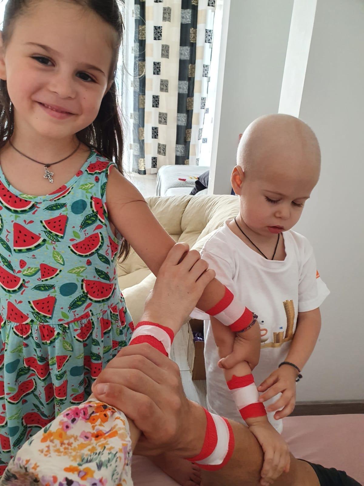UPADTE 20.07.2021 – Micuța Maria a urmat a 6-a cură de chimioterapie